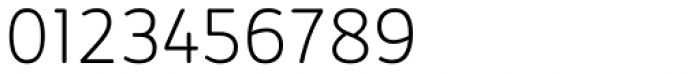 Kabrio Alternate ExtraLight Font OTHER CHARS