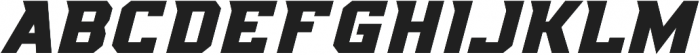KBSF Special Forces otf (400) Font LOWERCASE
