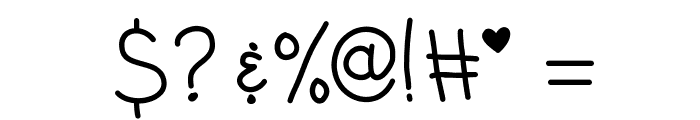 KBEarthQuake Font OTHER CHARS