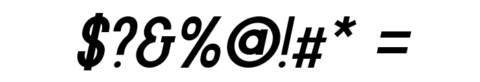 Kenzo-Italic Font OTHER CHARS