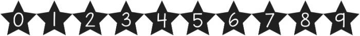 KG All of the Stars ttf (400) Font OTHER CHARS
