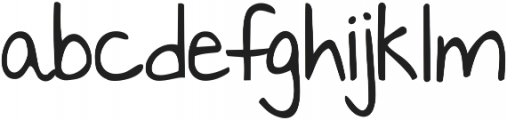 KG Something to Believe In ttf (100) Font LOWERCASE