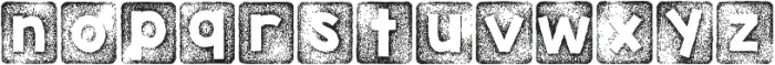 KG Thank You Stamp ttf (400) Font LOWERCASE