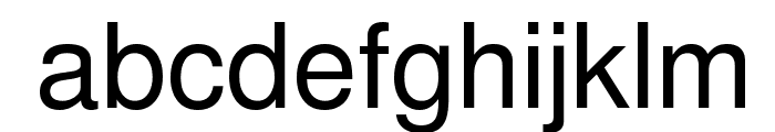 Khmer OS Fasthand Font LOWERCASE