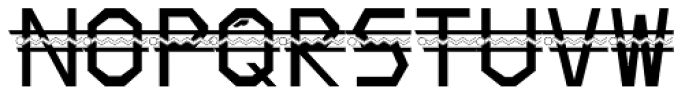 King Kirby Font LOWERCASE