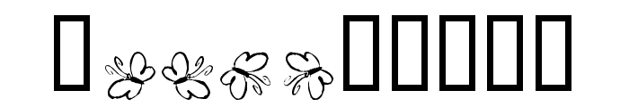 KR Butterfly Font OTHER CHARS
