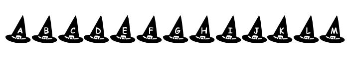 KR Witch's Hat Font LOWERCASE