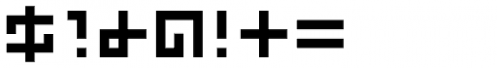 Kryptic Font OTHER CHARS