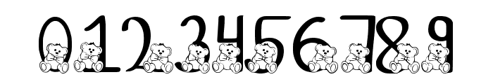 Ks Coppers Teddy Bears Regular Font OTHER CHARS