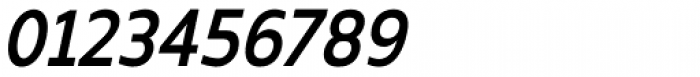 Kyrial Sans Pro Condensed SemiBold Italic Font OTHER CHARS
