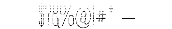 Labtop Graphed Font OTHER CHARS