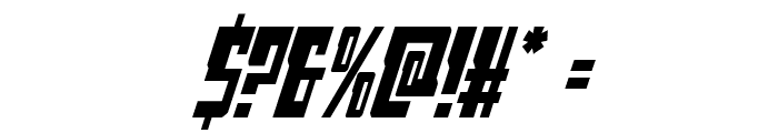 Lamprey Condensed Italic Font OTHER CHARS
