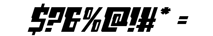 Lamprey Expanded Italic Font OTHER CHARS