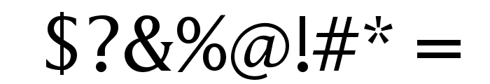 Latine Font OTHER CHARS