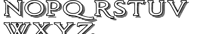 Larchmont Regular Font UPPERCASE