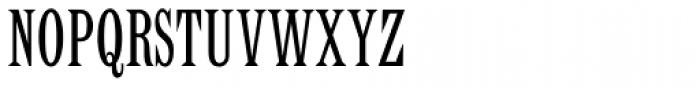 Latin Std Condensed Font UPPERCASE