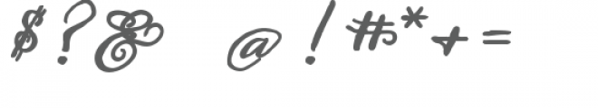ld hand-written greetings bold Font OTHER CHARS
