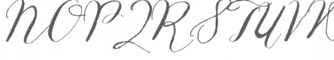 ld hand-written greetings Font UPPERCASE