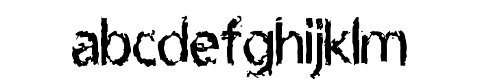 LeprocyFace Font LOWERCASE