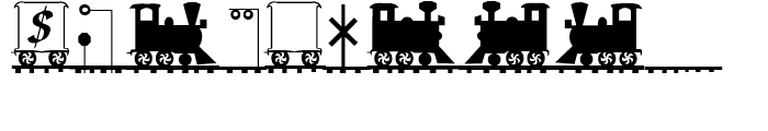Letter Train Bold Italic Font OTHER CHARS