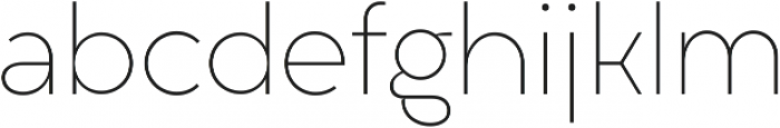 Liber Grotesque Family Thin ttf (100) Font LOWERCASE