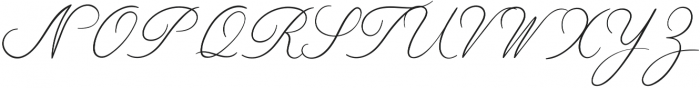 Limerence Thin otf (100) Font UPPERCASE