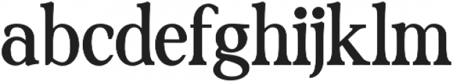 Lincoln Serif otf (400) Font LOWERCASE