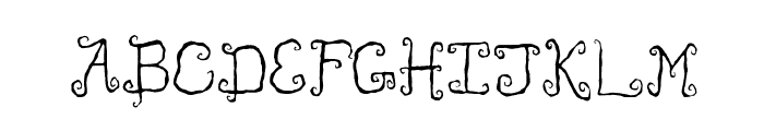Like Cockatoos Condensed Font UPPERCASE