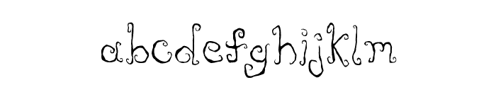 Like Cockatoos Condensed Font LOWERCASE
