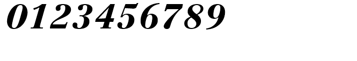 Linotype Centennial 96 Black Italic Font OTHER CHARS