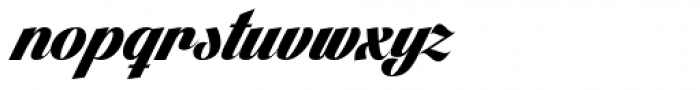 Lighthouse Font LOWERCASE