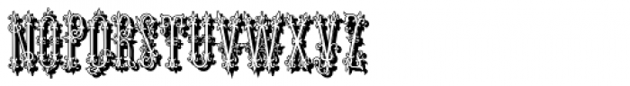 Like Wundes1 Shadow Font UPPERCASE
