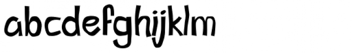 Little Pigeon Font LOWERCASE