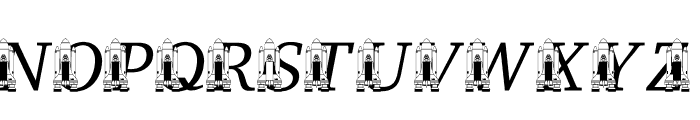 LMS Remembering SS Challenger Font UPPERCASE
