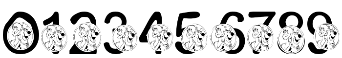 LMS Scooby Dooby Doo Font OTHER CHARS
