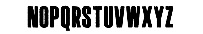 Long Haired Freaky People Font LOWERCASE