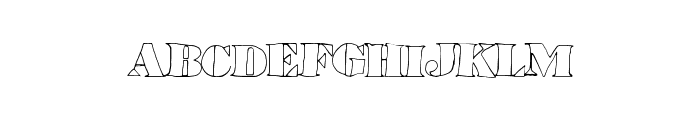 LowerHaight Font UPPERCASE