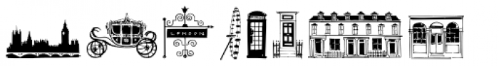 London Doodles Font LOWERCASE