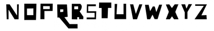 Lowery Auto Fill Font UPPERCASE