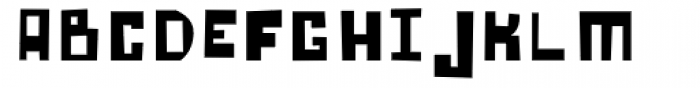 Lowery Auto Fill Font LOWERCASE
