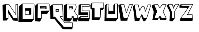 Lowery Auto Font UPPERCASE