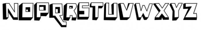 Lowery Auto Font LOWERCASE