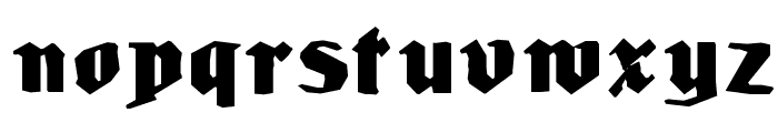 LudwigHohlwein Font LOWERCASE