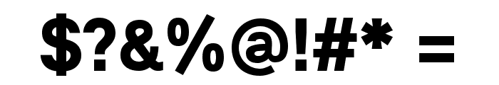 Lunchtype21 Bold Font OTHER CHARS