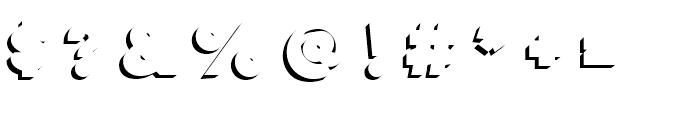 Lulo Clean Three Bold Font OTHER CHARS
