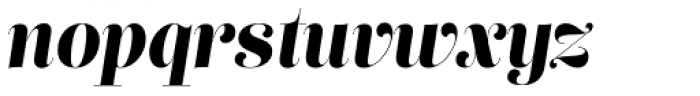 Lust Pro Didone Demi No5 Italic Font LOWERCASE