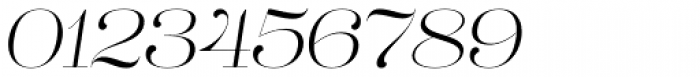 Lust Pro Didone No1 Italic Font OTHER CHARS