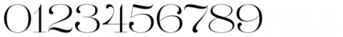 Lust Pro Didone No1 Font OTHER CHARS