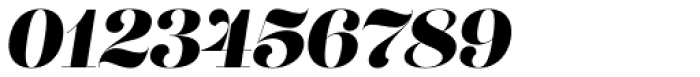 Lust Pro Didone No5 Italic Font OTHER CHARS