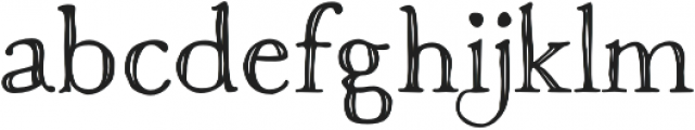 Macarons Sketch otf (400) Font LOWERCASE